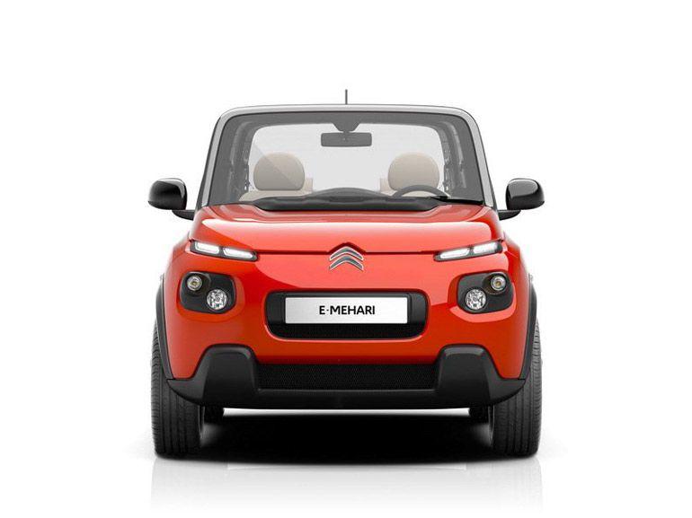 Citroën E-Mehari, un retour à minima