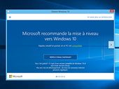 Windows 10 passe en mise à jour recommandée, l'utilisateur devra confirmer