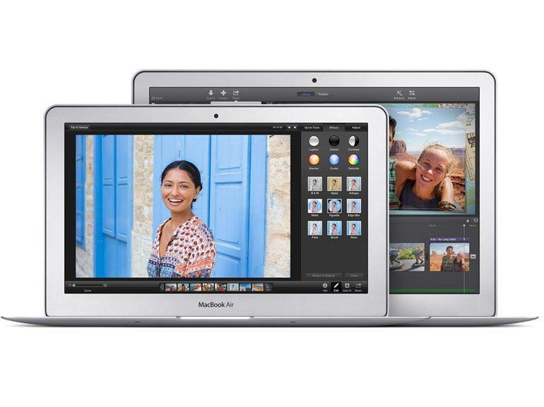 Des MacBook Air de 11 et 13 pouces légèrement mis à jour avec des tarifs qui enflent