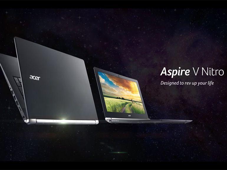 CES 2016 : la caméra Intel RealSense dans les Acer Aspire V Nitro