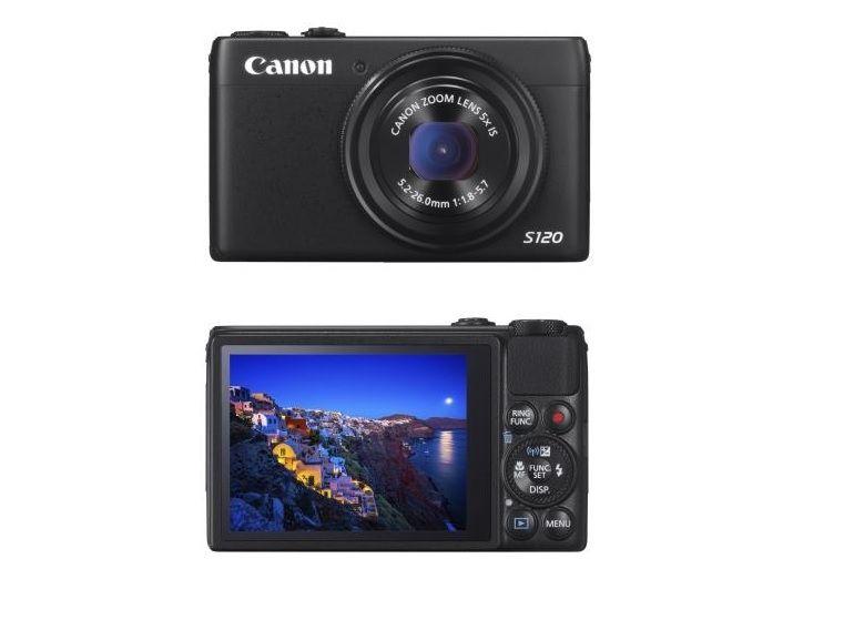 Bon plan : Pack Canon Powershot S120 + housse + micro SDHC 16 Go à 240€