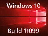 Windows 10 build 11099 : première preview 2016