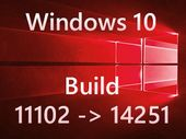Windows 10 build 14251 : Microsoft uniformise les numéros de versions