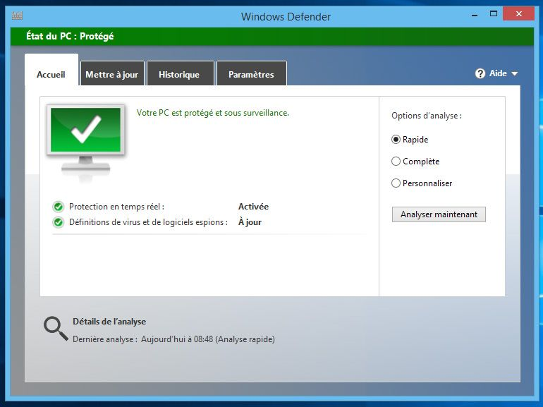 Fin de Windows 7 : Microsoft Security Essentials continuera de fonctionner