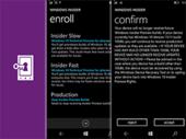 Windows 10 mobile : l'appli insider facilite la réception des mises à jour stables