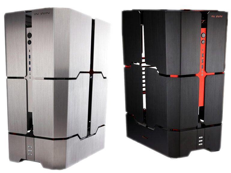IN WIN H-Tower : le boîtier PC à 2390 euros débarque en France