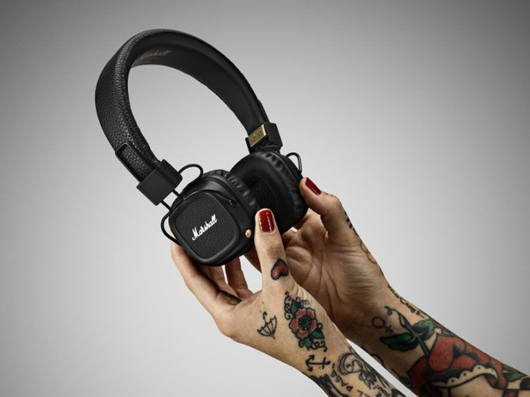 Major II Bluetooth : premier casque sans fil pour Marshall