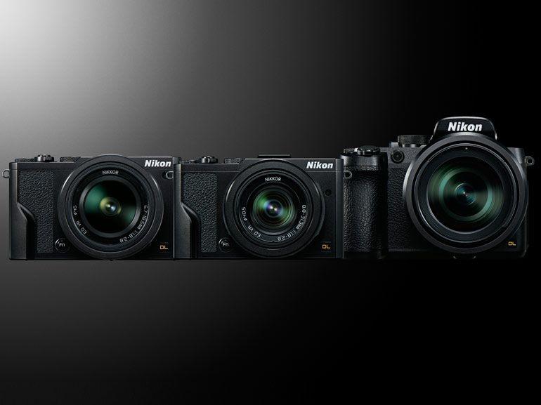 Nikon DL : une nouvelle famille d'appareils photo experts est née