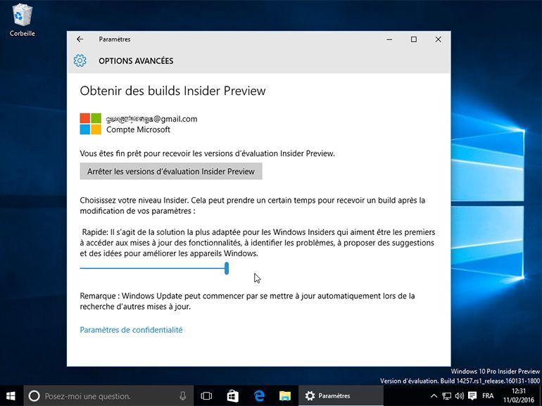 """Windows 10 : un nouveau niveau """"Release Preview"""" pour les testeurs"""