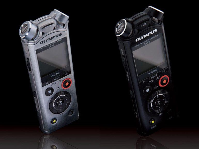 LS-P1, LS-P2 et VP-10 : les nouveaux enregistreurs audio d'Olympus