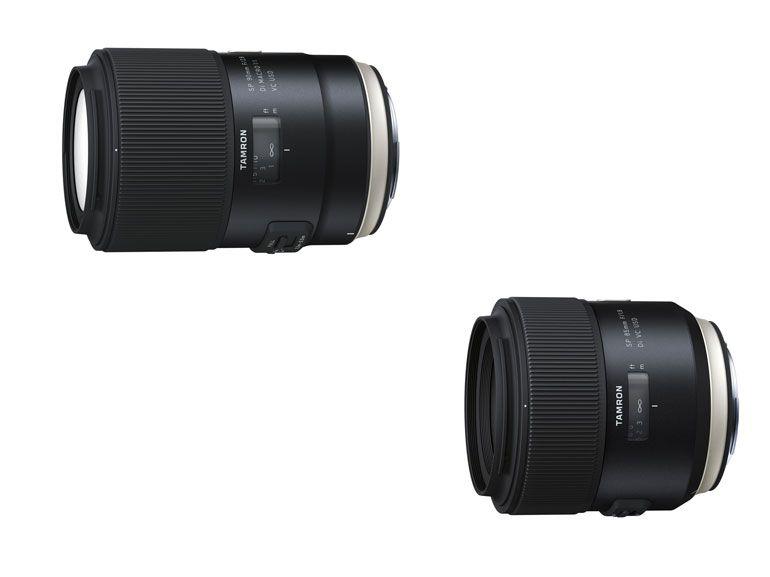 SP 85 mm f/1.8 et SP 90 mm f/2.8: deux nouvelles optiques chez Tamron