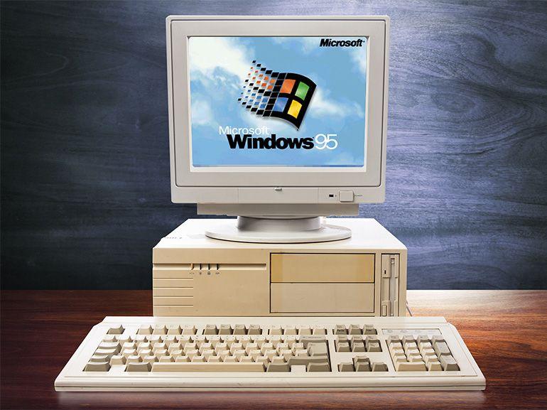 Revivez l'expérience Windows 95 à l'aide d'un simple navigateur