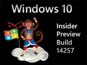 Windows 10 Build 14257, une version pour l'année du singe