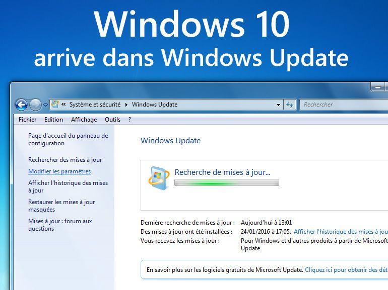 Windows 10 : la mise à jour automatique débute, comment ne pas l'installer ?