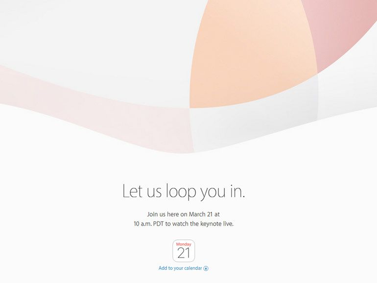 Let us loop you in : la prochaine Keynote d'Apple aura lieu le 21 mars