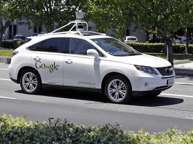 Une Google Car provoque son premier accident