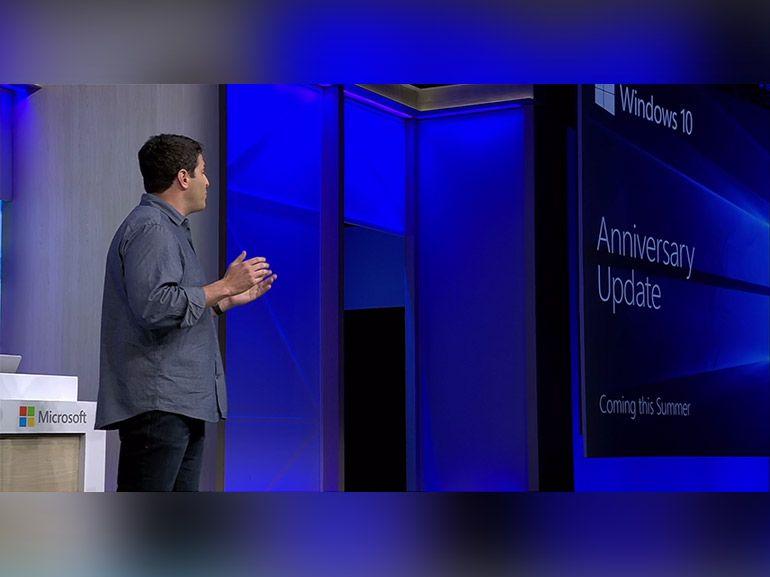 """Windows 10 """"anniversaire"""" : une mise à jour gratuite cet été"""
