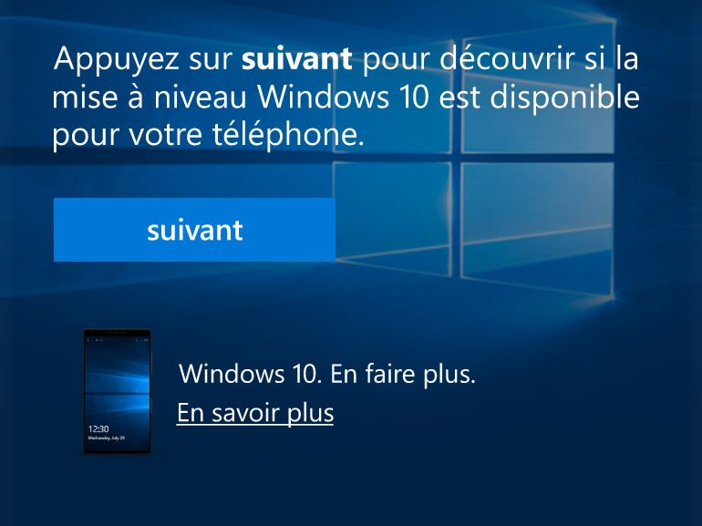 Windows 10 mobile : quels modèles compatibles et comment installer ?