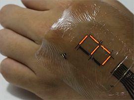 Santé connectée : le patch électronique « E-Skin » veut renouveler la biométrie