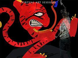 Google Art Sessions : des artistes réalisent des œuvres en réalité virtuelle sous vos yeux