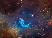 NASA : une vidéo d'une splendide nébuleuse pour les 26 ans de Hubble