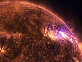 La NASA dévoile la première vidéo en 4K d'une éruption solaire