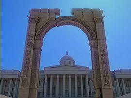 La 3D ressuscite l'Arche de Palmyre, détruite par DAESH