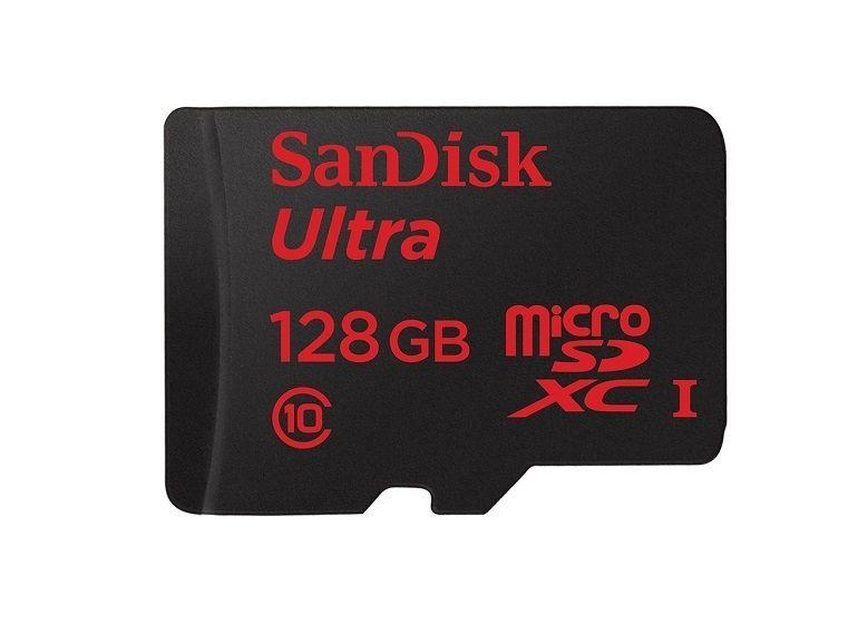 Bon plan : carte mémoire microSD SanDisk 128 Go à 46€