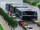 La Chine invente le bus anti-embouteillage