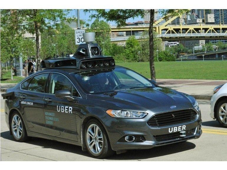 Uber : un premier véhicule autonome sur les routes