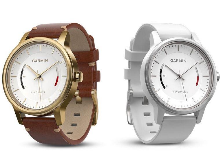 Garmin lance la Vivomove, une montre connectée analogique très classique