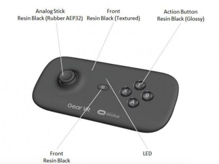 Samsung Gear VR: une manette dans les tuyaux?