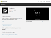 Windows 10 mobile : l'application Radio FM ne reviendra pas