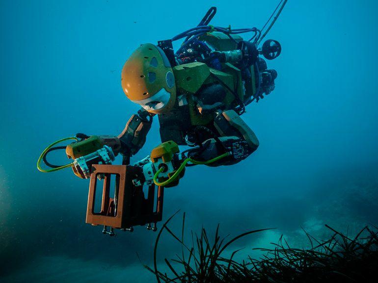 Un robot plongeur pour explorer les abysses