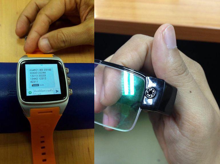 Les montres et lunettes connectées au service de la triche aux examens