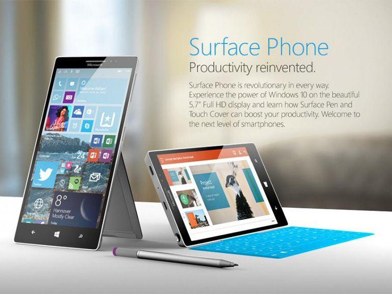"""Microsoft : un Surface Phone """"révolutionnaire"""" en préparation ?"""