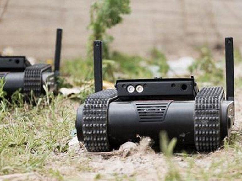 Une société israélienne développe un mini robot armé d'un pistolet