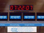 Microsoft : remplacez Chrome par Edge pour le bien de votre batterie