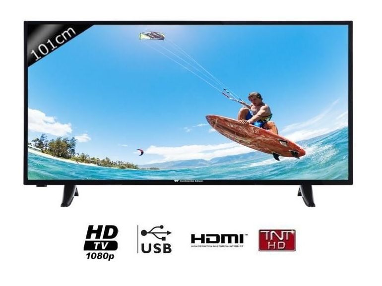 Bon plan : TV Continental Edison FULL HD 101 cm à 230€