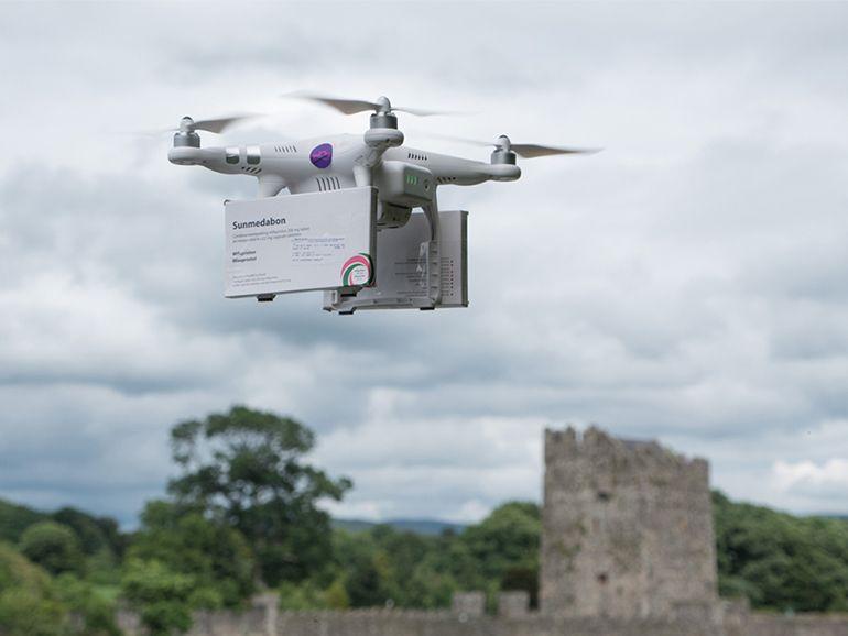 Un drone livre des pilules abortives en Irlande du Nord