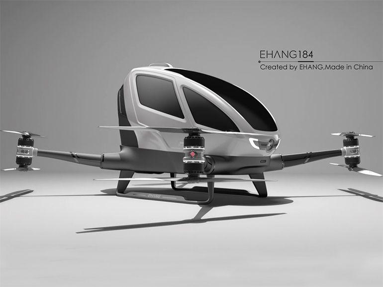 EHang 184 : le drone taxi prendra son envol au Nevada