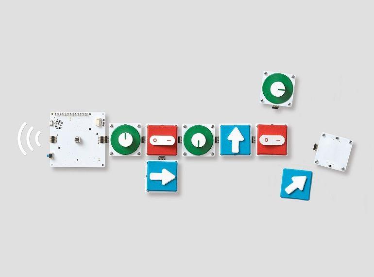 Google Bloks permet d'apprendre la programmation avec des briques