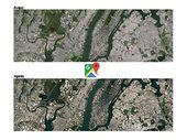 Google Maps et Earth : des images plus détaillées grâce à un nouveau satellite