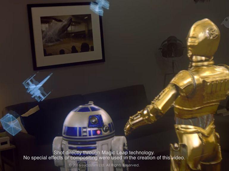 Magic Leap et Lucasfilm testent la narration en réalité mixte avec Star Wars