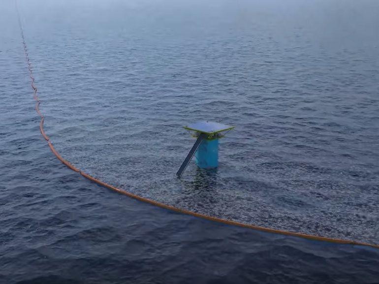 """Nettoyage des océans : premier test en conditions réelles pour le projet """"The Ocean Cleanup"""""""