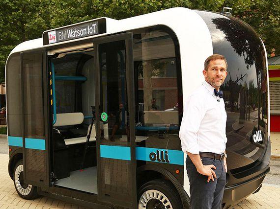 Intelligence artificielle : un bus autonome animé par Watson d'IBM