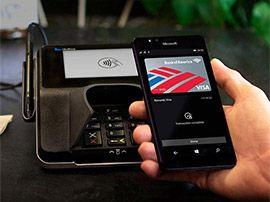 Microsoft introduit le paiement sans contact dans Windows 10 mobile