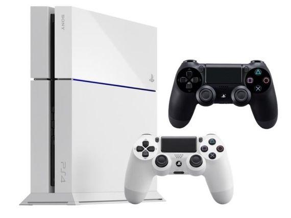 Soldes : Sony PS4 500 Go blanche (châssis c) + 2ème manette Dualshock à 299€