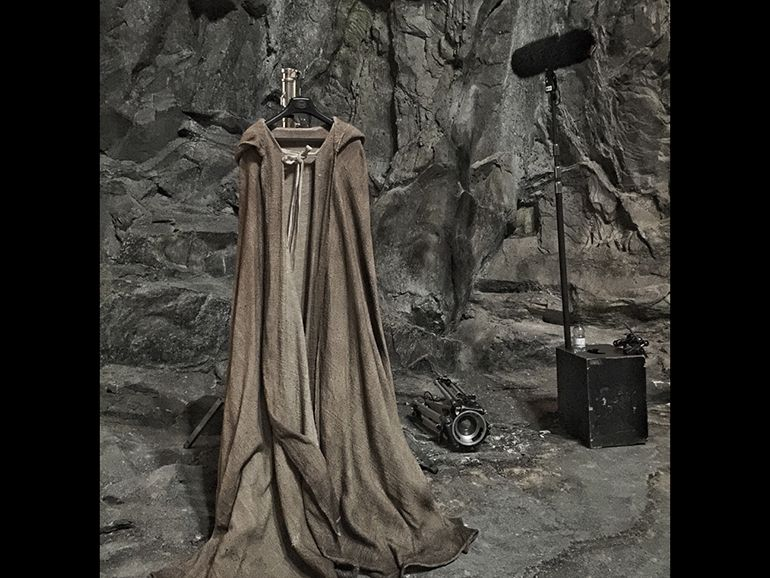 Star Wars Episode VIII: un costume et un décor dévoilés