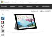 Surface 3 : arrêt de la fabrication en fin d'année